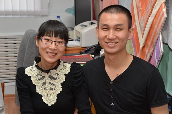 Молодожены Го Хао и Чжай Шуан.JPG