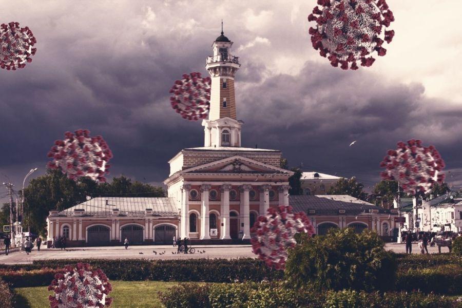 Коронавирус в Костромской области за сутки подтвердился у 86 человек