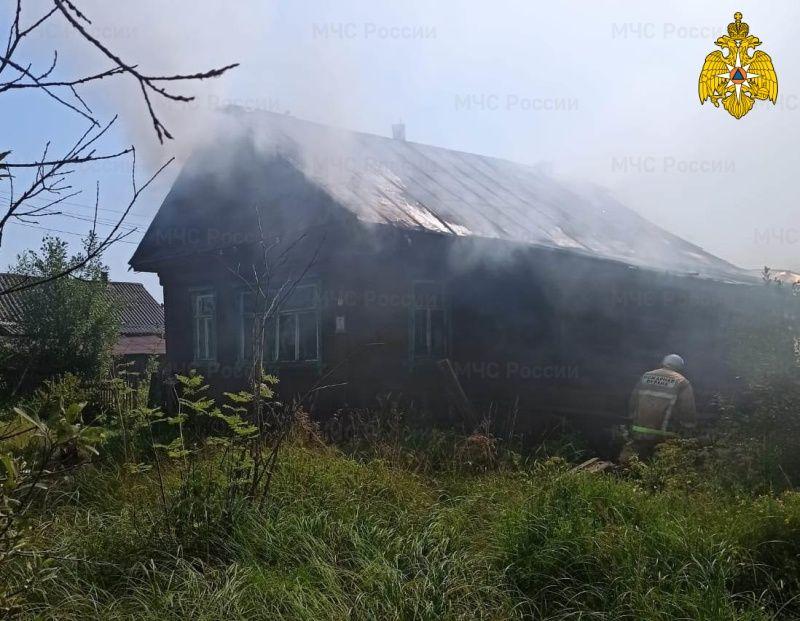 Костромичка погибла в страшном пожаре у себя дома