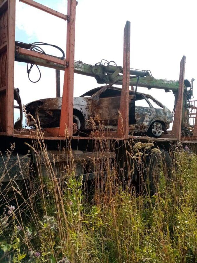 Покатушки на автомобиле закончились для костромича огненным шоу и СОБРом