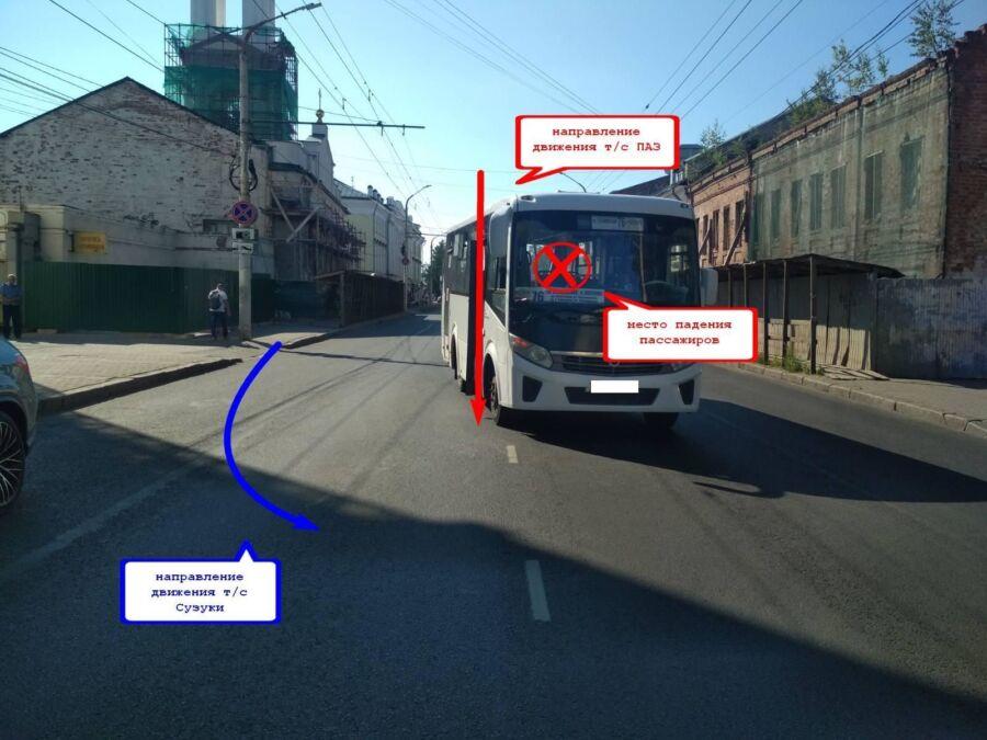 Пять человек, в том числе 10-месячный малыш, пострадали во время аварии в Костроме