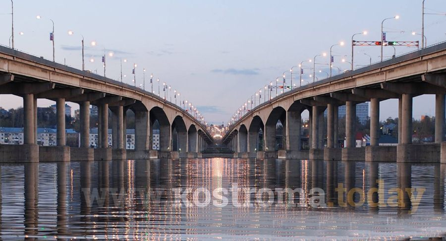 Стали известны сроки строительства второго моста в Костроме