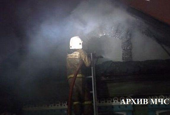На пожаре под Костромой нашли тело мужчины