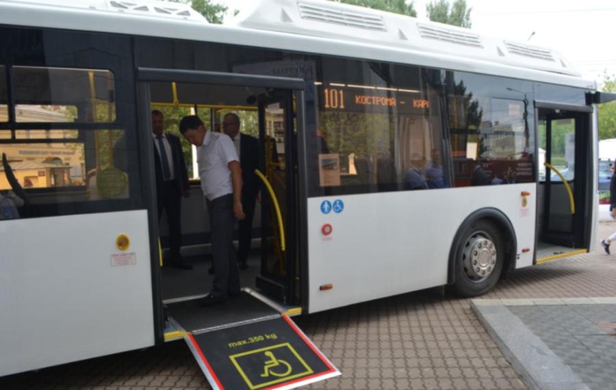 Новые автобусы с кондиционерами совсем скоро поедут, но не по Костроме