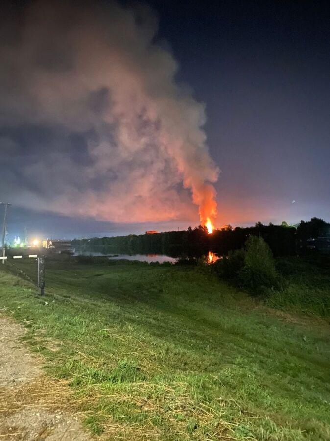 Стало известно, что за пожар всколыхнул всю Кострому