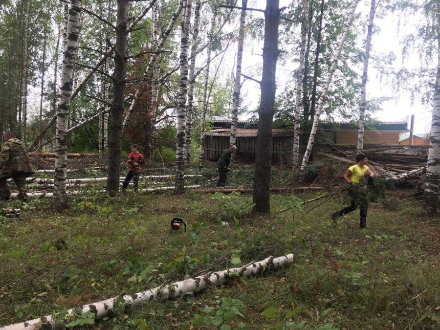 В Костромской области до сих пор устраняют последствия майского урагана