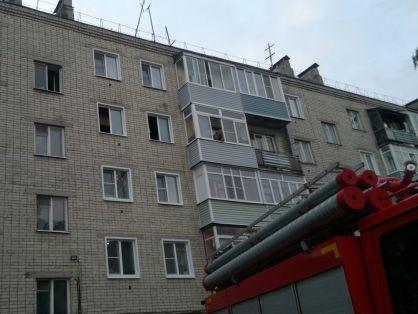 Пенсионер погиб на пожаре в костромской многоэтажке